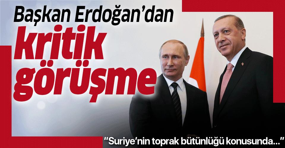 Başkan Erdoğan ile Putin telefonda görüştü