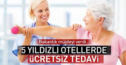 Sağlık Bakanlığı'ndan fizik tedavi ve rehabilitasyon hastalarına müjde