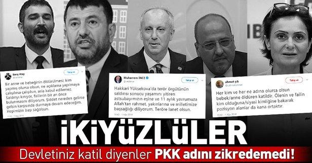 CHP'li ve HDP'lilerin hiçbiri PKK diyemedi