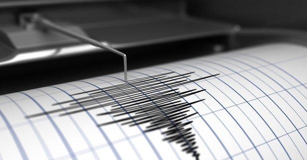 Bodrum'da korkutan deprem!