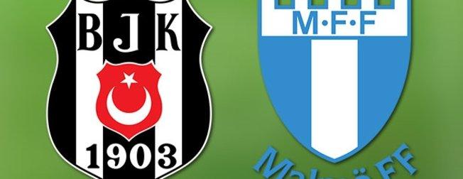 İşte Malmö Beşiktaş maçı muhtemel 11'leri