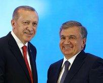 Özbekistan'dan Erdoğan'a ziyaretine özel klip