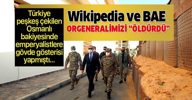 Orgeneral Yaşar Güler'i Wikipedia'da öldürdüler!