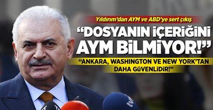 Başbakan Yıldırım'dan AYM çıkışı!