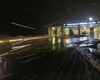 Kar yağışı Türkiye'ye girdi!