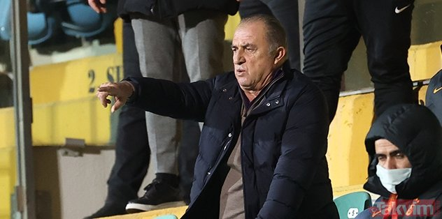 Galatasaray coach Fatih Terim did not look at the tears!  After these words the rope was pulled