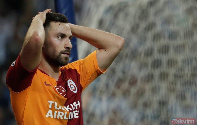 Galatasaray'da Sinan Gümüş şoku! Kadro dışı mı kaldı?