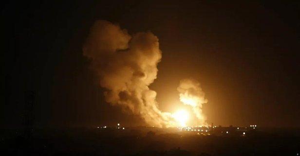 İsrail'de önce patlama ardından ise siren sesleri
