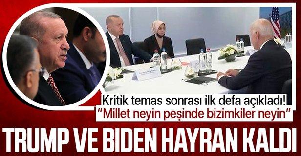 Başkan Erdoğan'dan vekillere talimat