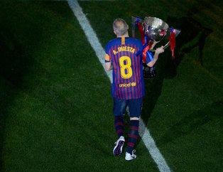 Andreas Iniesta Barcelona'ya veda etti
