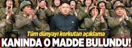 Kuzey Koreli askerin kanında bulunan madde şok etti