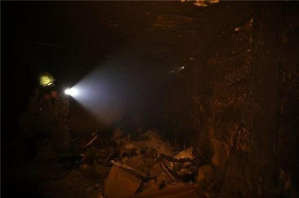 Asker PKK'nın tünellerine girdi