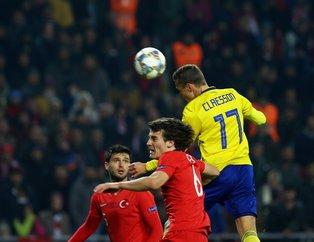 Türkiye  UEFA Uluslar B Ligi mücadelesinde İsveçe 1-0 mağlup oldu