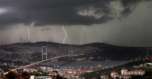 Valilik uyardı! İstanbul şiddetli yağış alarmı