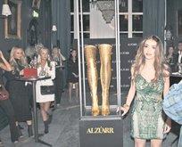 Altın çizmeler Türk tasarımcıdan
