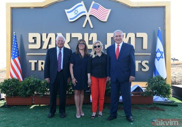Golan'da skandal! Temeli atıldı