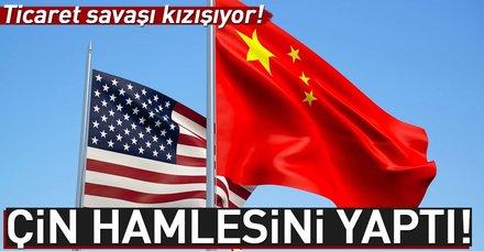 Çin'den ABD'ye ilave vergi misillemesi