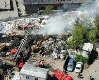 İstanbul'da korkutan yangın! Büyümeden söndürüldü