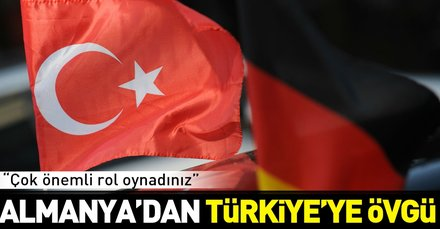 Son dakika: Almanyadan Türkiyeye övgü: İdlibde çok önemli rol oynadı