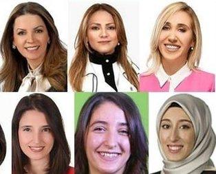 İşte Meclis'in kadın milletvekilleri