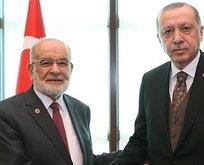 Başkan Erdoğan'dan Karamollaoğlu'na tebrik