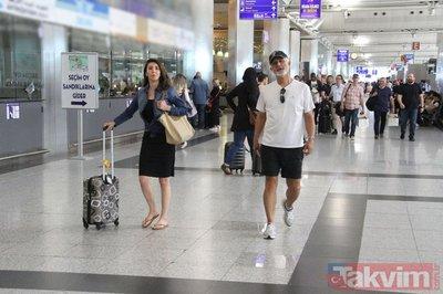 Taciz haberleriyle gündeme gelen Talat Bulut kız arkadaşıyla ortaya çıktı