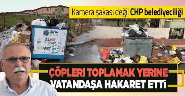 Çanakkale Belediyesi, çöpleri toplamakta