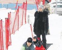 Şıkel'in kar neşesi