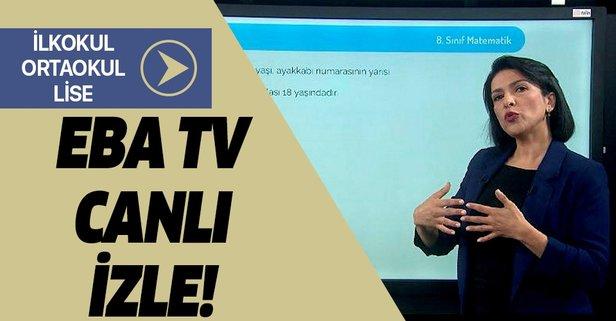 EBA TV canlı izle