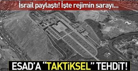 İsrail Esadın sarayının uydu fotoğraflarını yayınladı