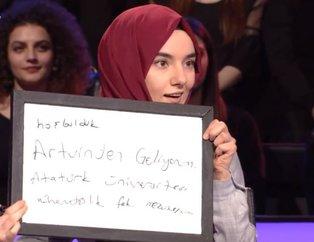 Gönüllerin 'Milyoner'i! Kenan İmirzalıoğlu'nun sunduğu Kim Milyoner Olmak İster'e Ümmü Gülsün Genç damgası