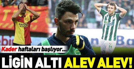 Ligin altı alev alev! Süper Lig'den düşecek 3 ekip için kader haftaları başlıyor