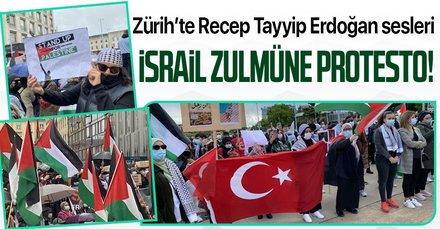 Zürih'te Erdoğan sesleri!