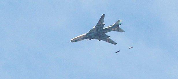 ÖSO katil Esed'in uçağını düşürdü!