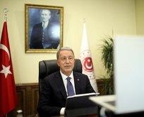 Bakan Akar'dan net Doğu Akdeniz mesajı