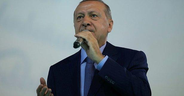Başkan Erdoğan'dan seçmene teşekkür mesajı