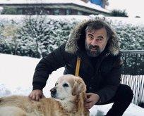Oktay Kaynarca oğluyla kar keyfinde!