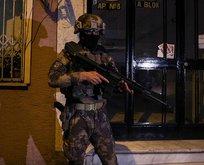 İstanbul'da gece yarısı operasyonu