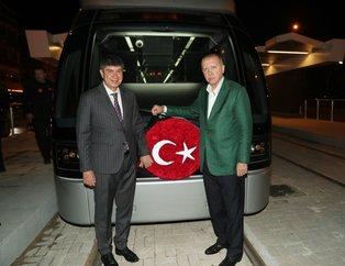 Antalya'ya yeni tramvay hattı! Test sürüşünü Başkan yaptı