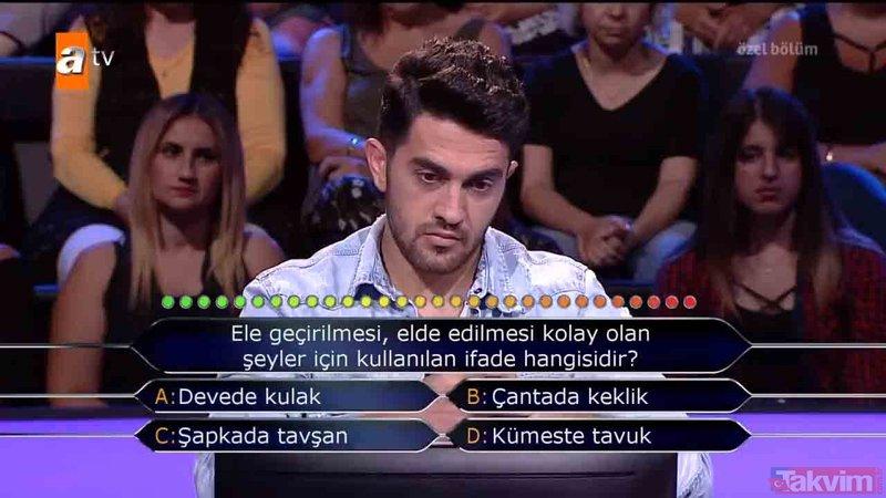 Kim Milyoner Olmak İster 12 Ocak özel bölümü soru ve cevapları | İlk silikon meme hangisine takılmıştır?