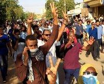 Darbe yaşanan Sudan'ın haritadaki yeri