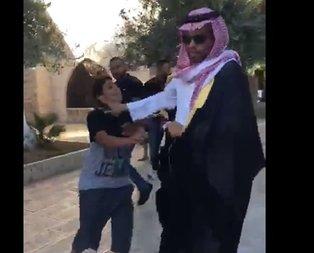 Filistinliler Aksa'dan kovmuştu! Skandal videosu ortaya çıktı