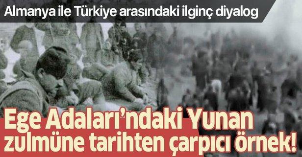 Almanya ile Türkiye arasındaki ilginç diyalog