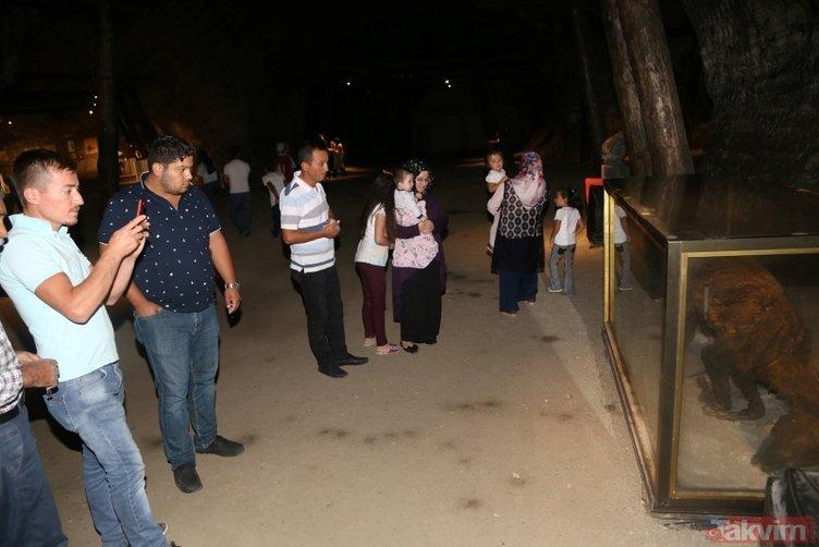 Çankırı'da 5 bin yıllık mağaraya ziyaretçi akını