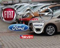 Sahibinden satılık 74.250 lira altı 2. el araba markaları!