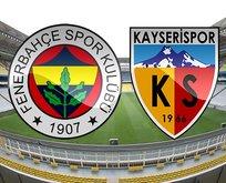 Fenerbahçe-Kayserispor maçı ne zaman?