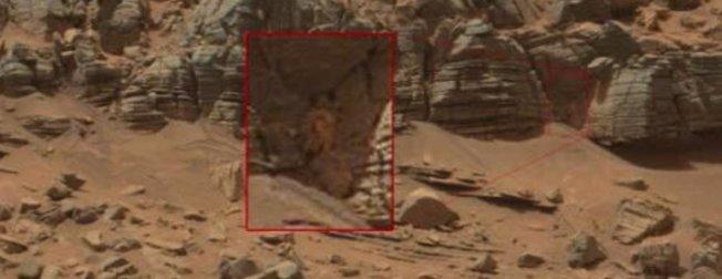 Bilim insanları Marstaki bu görüntünün esrarını yıllardır çözemiyor!
