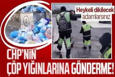 Tuzla Belediye Başkanı Şadi Yazıcı'dan CHP'li belediyelerdeki çöp yığınlarına esprili gönderme!