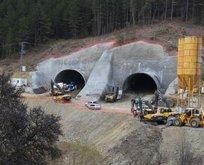 Ilgaz tüneli yarın açılıyor