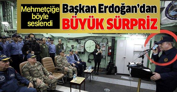 Erdoğan'dan Mehmetçiğe kutlama